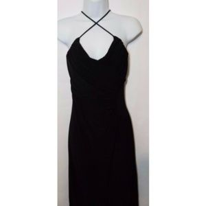 Roberta Women's Full Length Black Dress